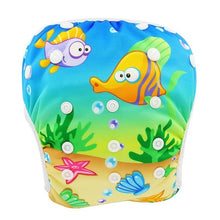 Load image into Gallery viewer, Reusable Adjustable Baby Swim Diapers - Camanda Baby - Under The Sea