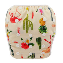 Load image into Gallery viewer, Reusable Adjustable Baby Swim Diapers - Camanda Baby - Cactus
