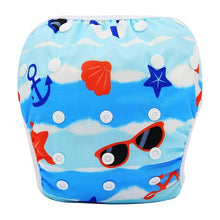 Load image into Gallery viewer, Reusable Adjustable Baby Swim Diapers - Camanda Baby - Beach
