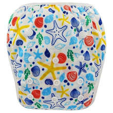 Load image into Gallery viewer, Reusable Adjustable Baby Swim Diapers - Camanda Baby - Star Fish