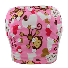 Load image into Gallery viewer, Reusable Adjustable Baby Swim Diapers - Camanda Baby - Monkey