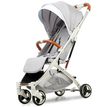 Load image into Gallery viewer, Baby Stroller Lightweight Portable Travel System - Camanda Baby - Light Grey
