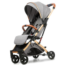 Load image into Gallery viewer, Baby Stroller Lightweight Portable Travel System - Camanda Baby - Dark Gray 1