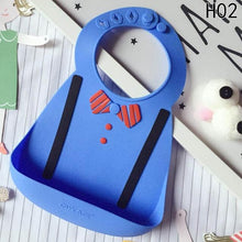 Load image into Gallery viewer, Waterproof Silicone Baby Food-Grade Bibs - [variant_title] - Camanda Baby