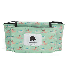 Load image into Gallery viewer, Print Baby Stroller Organizer Bags - Puppies - Camanda Baby