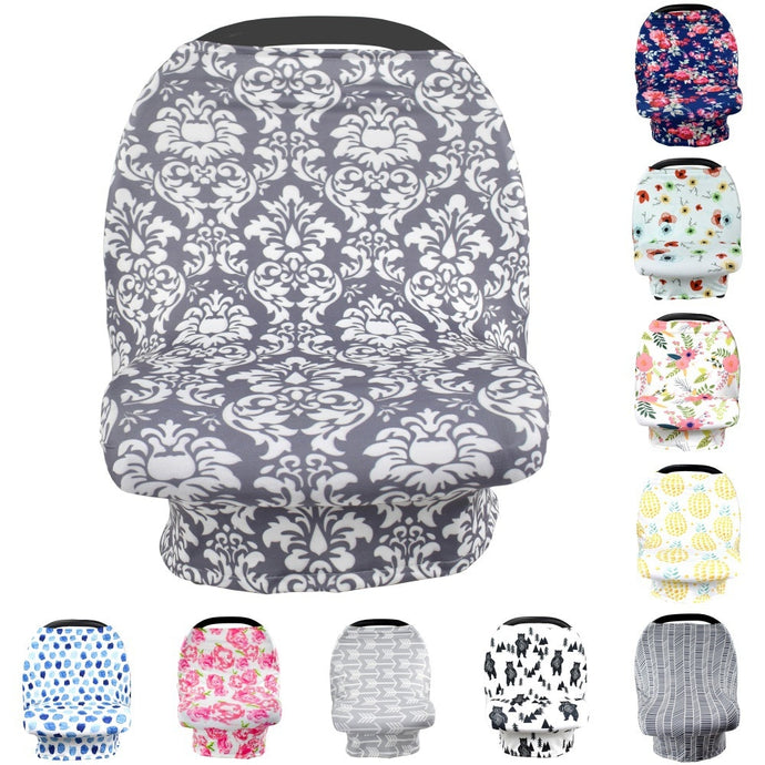 Car Seat Cover & Baby Nursing 6 in 1 Cover - Camanda Baby - [variant_title]