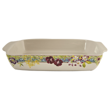 Load image into Gallery viewer, Gien Millefleurs Rectangular Baking Dish