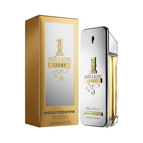 1 Million Lucky 100ml EDT Spray For Men By Paco Rabanne
