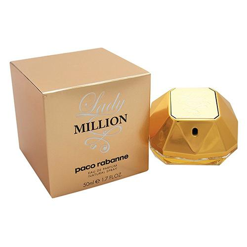 Lady Million 50ml EDP Spray For Women By Paco Rabanne