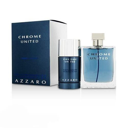 Azzaro Chrome United 2Pc Set For Men By Azzaro