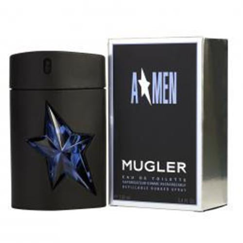 Amen 3.4oz/100ml EDT Spray Sp Refillable For Men Rubber By Thierry Mugler