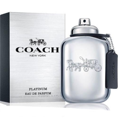 Coach Platinum Men 100ml EDP  Spray for Men by  Coach