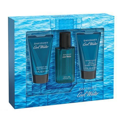 Cool Water Men 3PC Gift Set By Davidoff