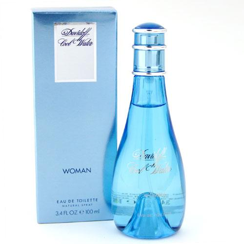 Cool Water Woman  100ml EDT Spray For Women By Davidoff