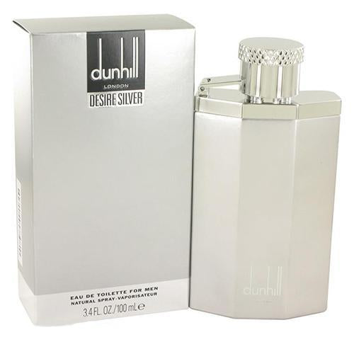 Desire Silver London 100ml EDT Spray By Alfred Dunhill