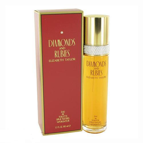 Diamonds & Rubies 100ml EDT Spray For Women By Elizabeth Taylor
