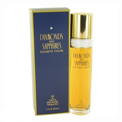 Diamonds & Saphires 100ml EDT Spray For Women By Elizabeth Taylor