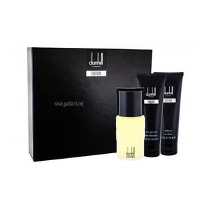 Dunhill Edition 3PC Gift Set For Men By Alfred Dunhill