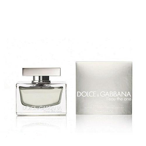 D&G Leau The One 75ml EDT Spray For Women By Dolce & Gabbana