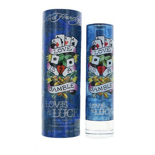 Ed Hardy Love & Luck 100ml EDT Spray for Men by Ed Hardy