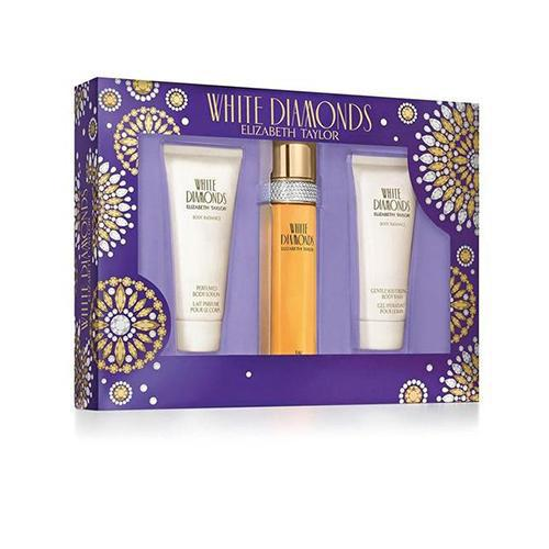 Elizabeth Taylor White Diamonds 3Pc Set For Women By Elizabeth Taylor