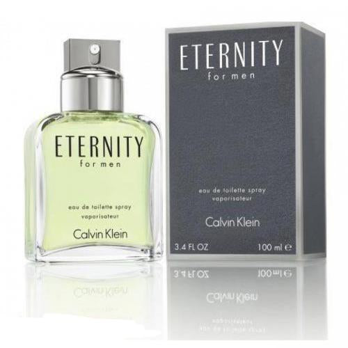 Eternity 3.4oz/100ml EDT Spray For Men By Calvin Klein