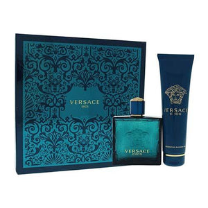 Eros 2Pc 100ml EDT Spray/SG150 For Men By Versace