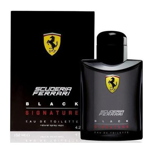 Ferrari Black Signature  125ml EDT Spray  For Men By Ferrari