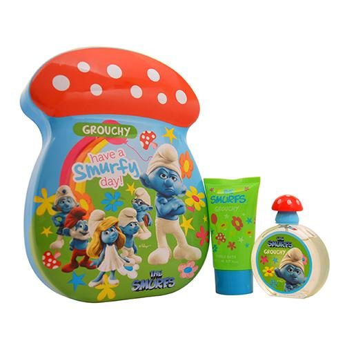 Grouchy Smurf 2Pc 50ml EDT Spray/75SG For Men By The Smurfs