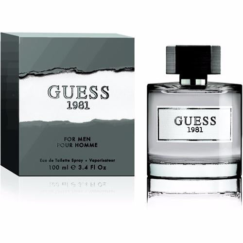 Guess 1981 Men 100ml EDT Spray For Men By Guess