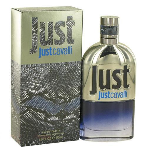 Just Cavalli New 90ml EDT Spray For Men By Roberto Cavalli