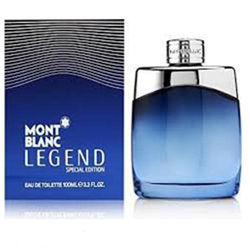Legend Limited Edition 100ml EDT Spray for Men By Mont Blanc