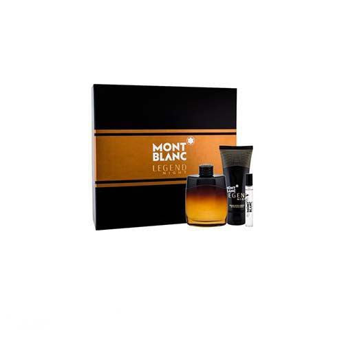 Legend Night 3Pc Set For Men By Mont Blanc