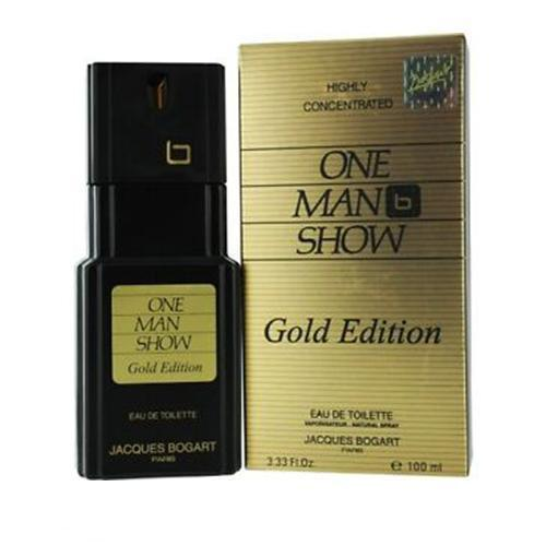 One Man Show Gold Edition 100ml EDT Spray for Men by Jacques Bogart Paris