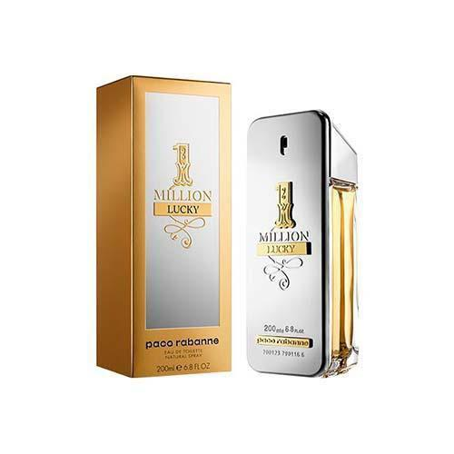 One Million Lucky 200ml EDT Spray for Men by Paco Rabanne