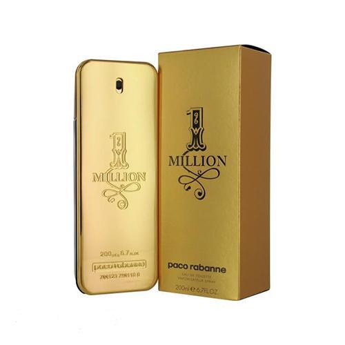 Paco One Million 200ml EDT Spray For Men By Paco Rabanne
