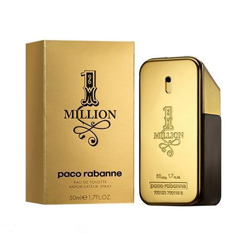 Paco One Million 50ml EDT Spray For Men By Paco Rabanne