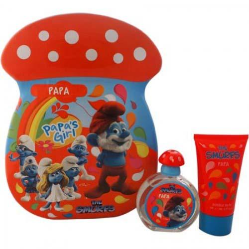 Papa Smurfs 2Pc 50ml EDT Spray/75SG For Men By The Smurfs