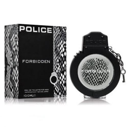 Police Forbidden 100ml EDT Spray for Men By  Police