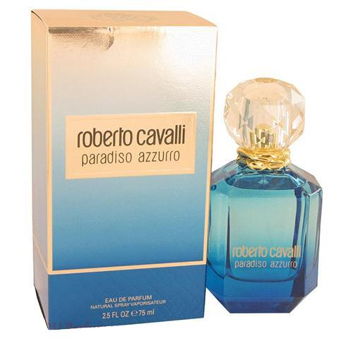 Roberto Cavalli Paradiso Azzurro 75ml EDP Spray For Women By Roberto Cavalli