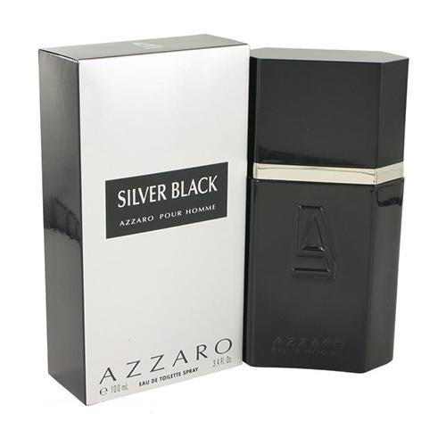 Silver Black 100ml EDT Spray By Azzaro