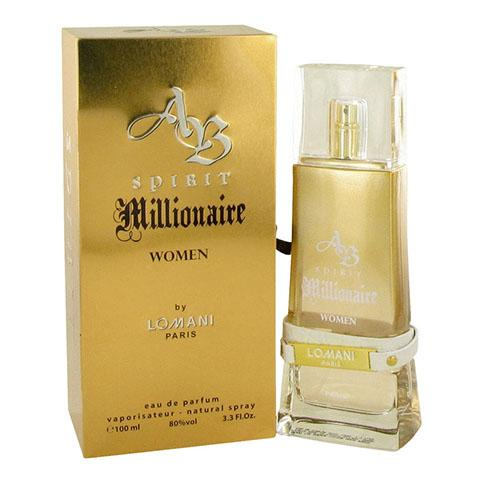 Spirit Millionaire Women 100ml EDP Spray For Women By Lomani