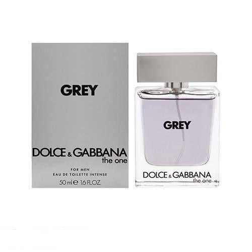The One Men Grey Intense 50ml EDT Spray For Men By Dolce & Gabbana