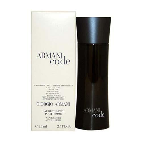 Tester - Armani Code 75ml EDT Spray For Men By Armani