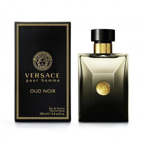 Versace Pour Homme Oud Noir 100ml EDP Spray For Men By Versace