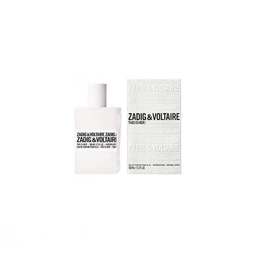 Zadig & Voltaire This Is Her 100ml EDP Spray For Women By Zadig & Voltaire