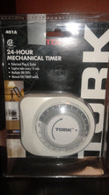 Load image into Gallery viewer, TORK 24 hour Mechanical Timer