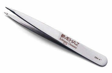 MEHAZ Depil-A-Tweez Pointed Tip Stainless Steel Pointed Tweezer