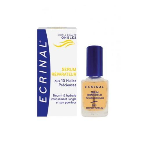 Ecrinal Repair Serum with 10 Precious Oils for Nails, 0.34 Fluid Ounce