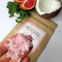 Load image into Gallery viewer, Revival Body Care Organic Whipped Skin-Replenishing Body Scrub - Grapefruit + Mint